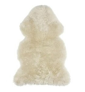 Sheep fur natural, different types- size over 120 cm