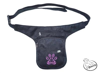 Bracco Bokovka, taška kolem pasu, nebo ramen - růžová INDIAN PAW