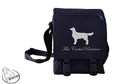 Bracco bag City or Country, Flat Coated Retriever
