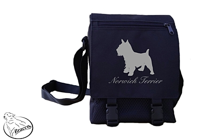 Bracco bag City or Country, Norwich Terrier