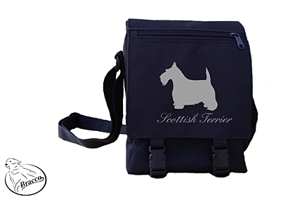 Bracco bag City or Country, Scottish Terrier