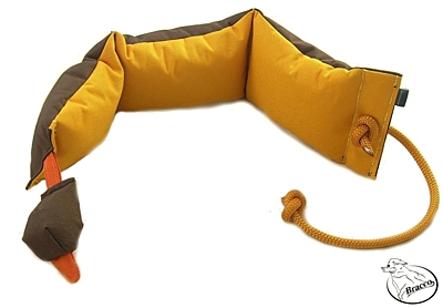 Bracco Duck Dummy for teaching grip 1200 g- with feathers or without feathers.
