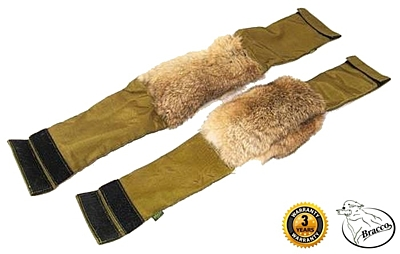 Bracco three-part fillable dummy with fur – two sizes.