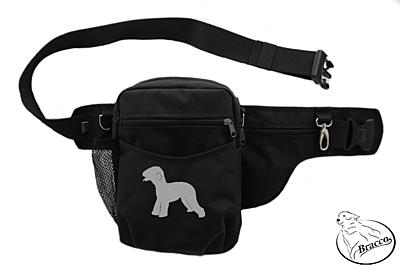 Bracco dog training belt Multi, black Bedlington Terrier