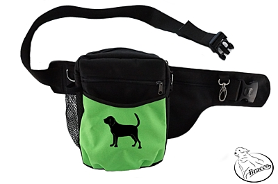 Bracco dog training belt Multi, black/green Bloodhound