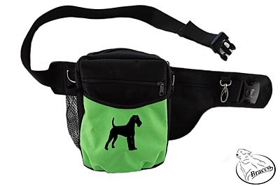 Bracco výcvikový opasek Multi, černá/zelená Irish Terrier