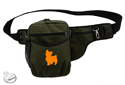 Bracco dog training belt Multi, khaki Yorkshire Terrier 1