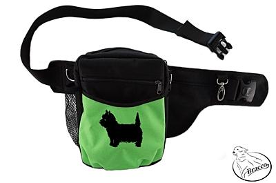 Bracco Trainingsgürtel Hund Multi, schwarz/grün West Highland Terrier