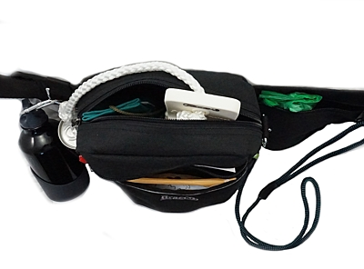 Bracco dog training belt Multi, black Deutscher Wachtelhund