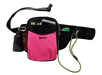 Bracco dog training belt Multi, black/pink- Alaskan Malamute