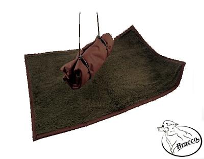 Bracco Travelbed nepromokavá deka pro psa s vodítkem 75 x 100 cm, různé barvy