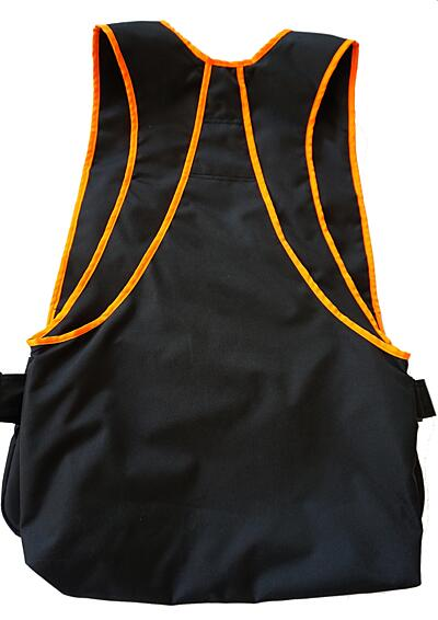 Bracco Dogsport Vest, black/orange- different sizes.
