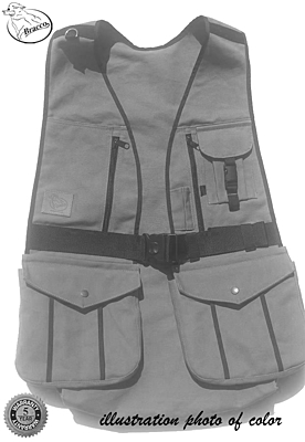 Bracco Dummy Vest Dublin, brown- different sizes.
