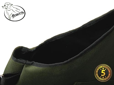 Bracco Dummy Vest Profi Comfort khaki polyamide, various sizes.