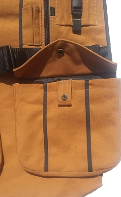 Bracco Dummy Vest Dublin, light brown- different sizes.