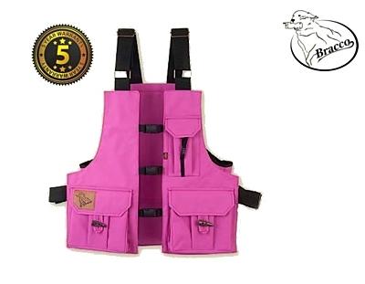 Bracco Dummy Vest Profi Comfort pink polyamide, various sizes.