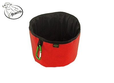 Bracco Collapsible Dog Bowl, waterproof, size L- different colors