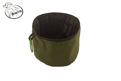 Bracco Collapsible Dog Bowl, waterproof, size M- different colors