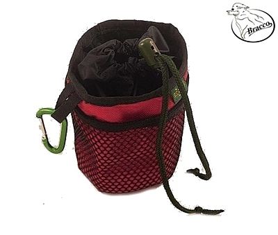 Bracco snack bag for dog, various colors.
