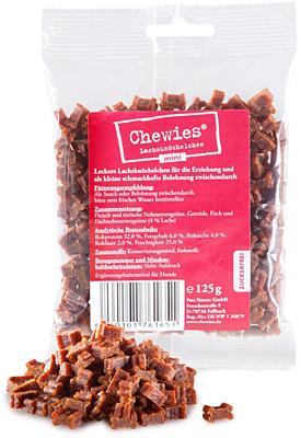 Chewies Mini Lachsknöchelchen - with salmon 125g