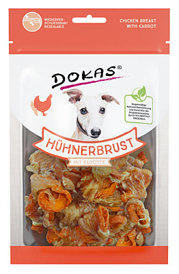 Dokas - Chicken breast with carrot 70 g
