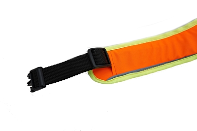 BRACCO dog harness ACTIVE, neon orange - various sizes.