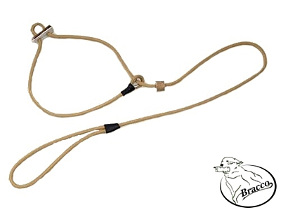 Bracco moxon dog leash 2x stopper antler 4.0 mm/ 170 cm - different colors.