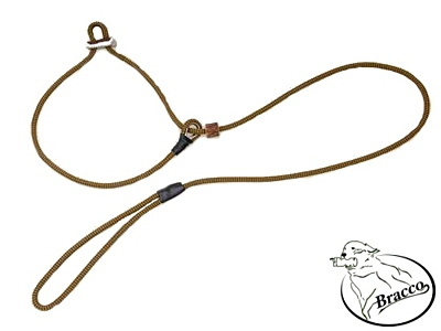 Bracco moxon dog leash 2x stopper antler 8.0 mm/ 170 cm - different colors.