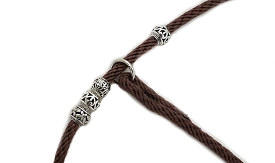Bracco show leash 5.0 mm/ 140 or 170 cm- various colours.