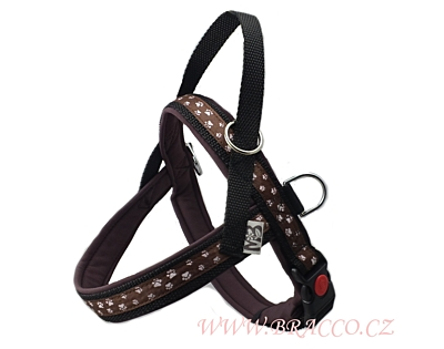 Bracco Norwegian harness, brown- various sizes